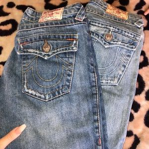 True Religion jeans.